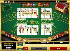 Pai Gow Poker hos Betway Casino