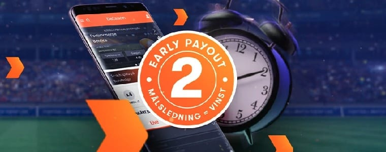 Betsson Early payout