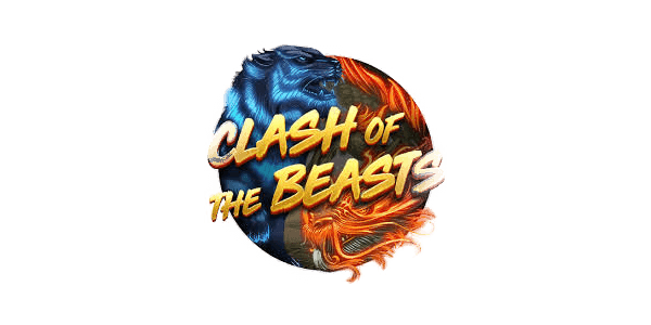 Clash of the Beast slots logo