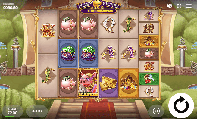 piggy riches slot example for megaways