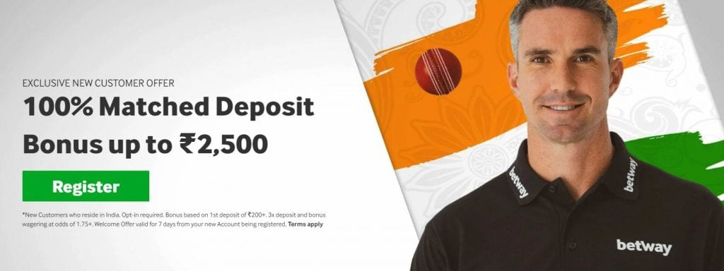 Betway New Customer Offer